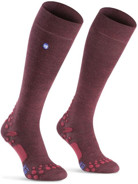 Compressport Care Socks Garnet